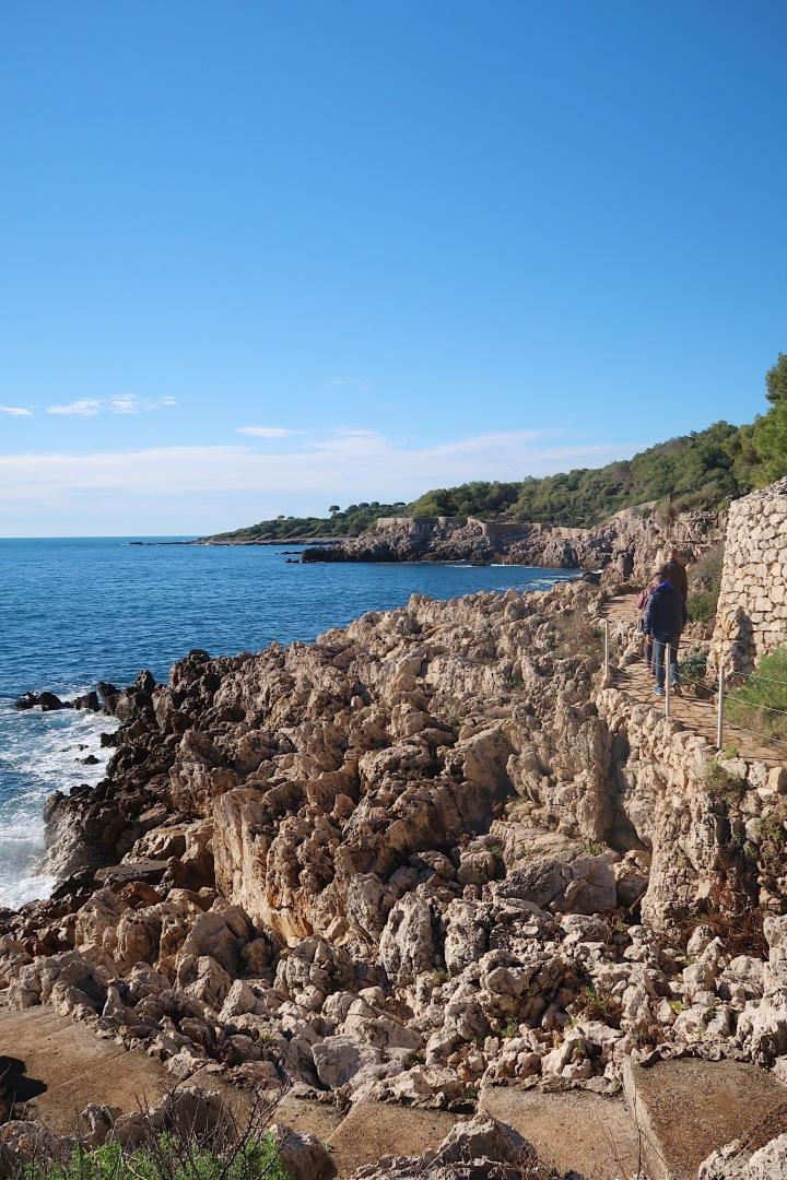 Walking the 'Sentier du Tire Poil – Capd'Antibes