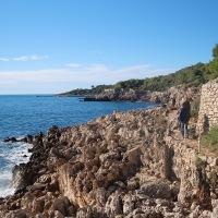 Walking the 'Sentier du Tire Poil - Cap d'Antibes